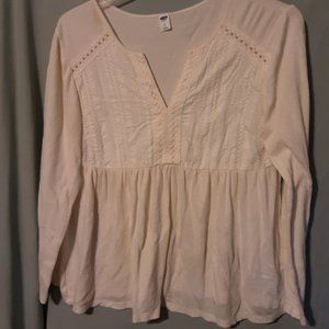 TOP BY OLD NAVY SIZE L